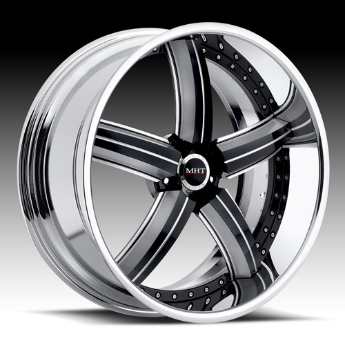 20 MHT Suede Black Rims Wheels BMW 745 750 645 650 M6
