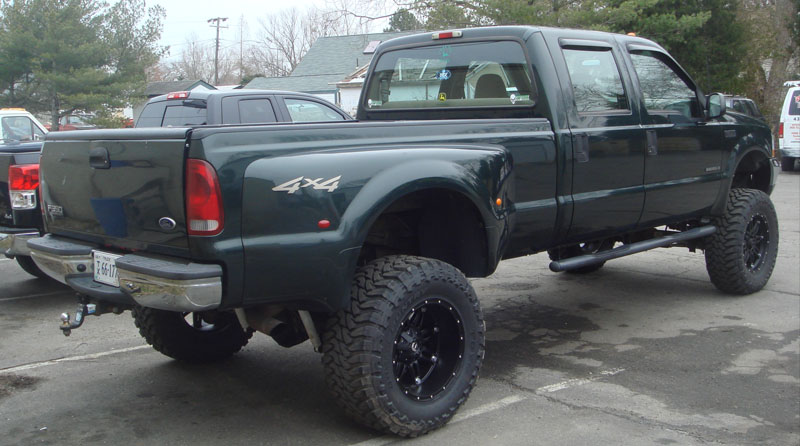 2000 Ford F350 Dually Brand